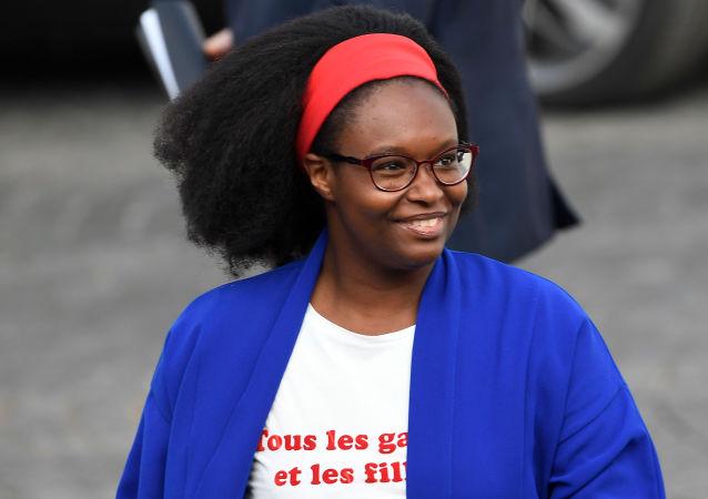 Sibeth Ndiaye, le 14 juillet 2019, Paris