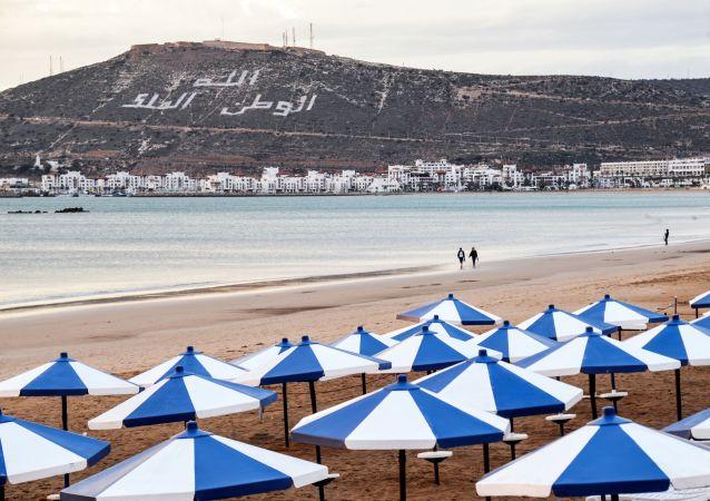 une plage de Maroc