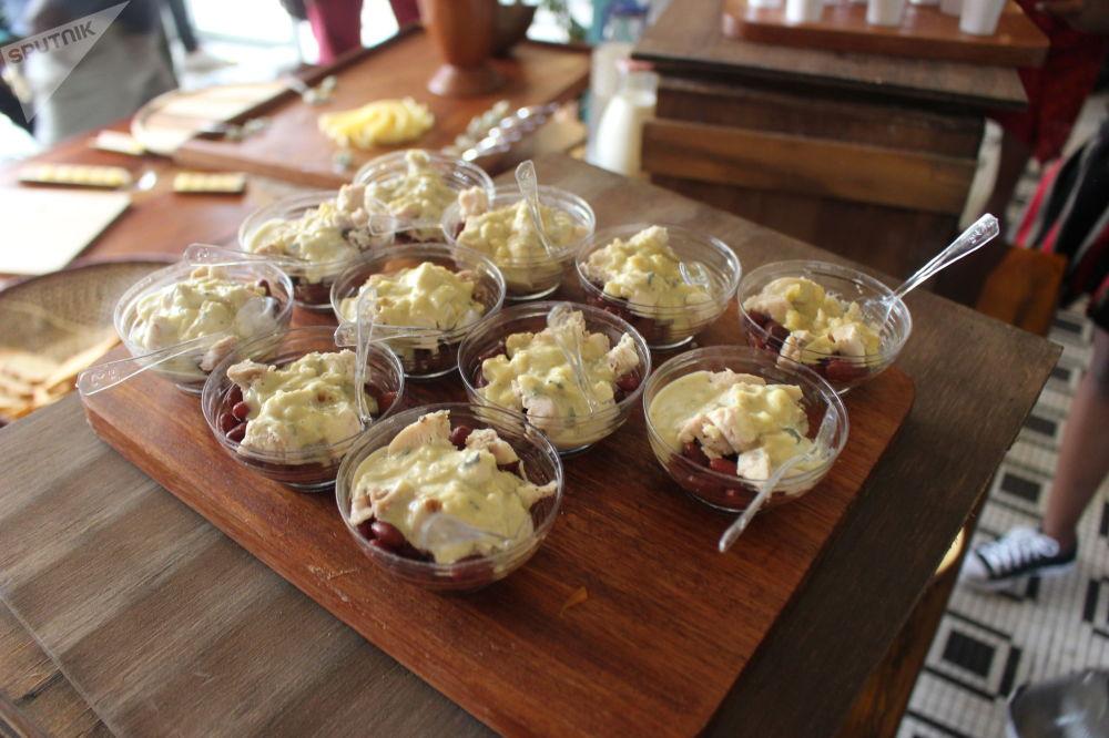 Du haricot rouge, fromage, poisson…plat revisité par Christian Abégan