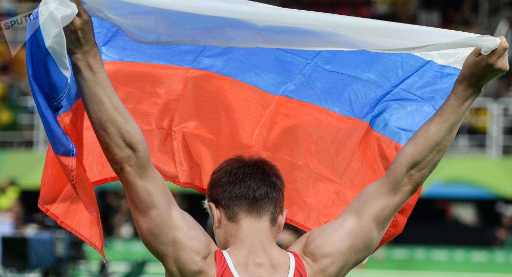 Un gymnaste russe lors des Jeux olympiques 2016 de Rio de Janeiro (archive photo)