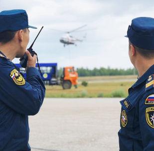 représentants du ministère des Situations d'urgence, image d'illlustration