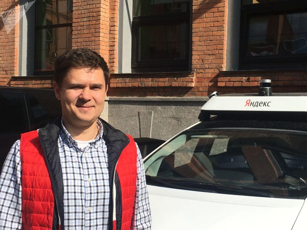 Artiom Fokine, directeur pour le développement des voitures autonomes de Yandex