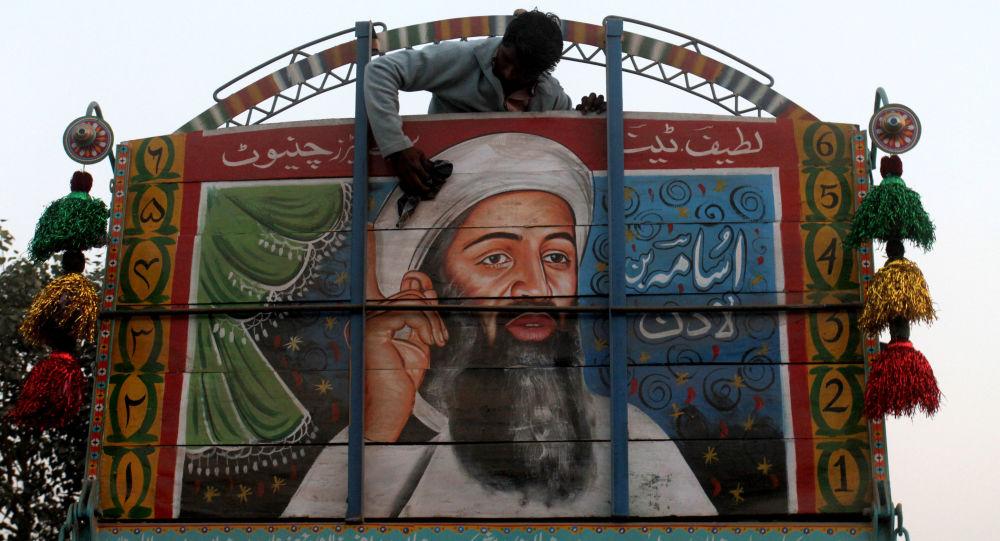 un portrai d'Oussama ben Laden