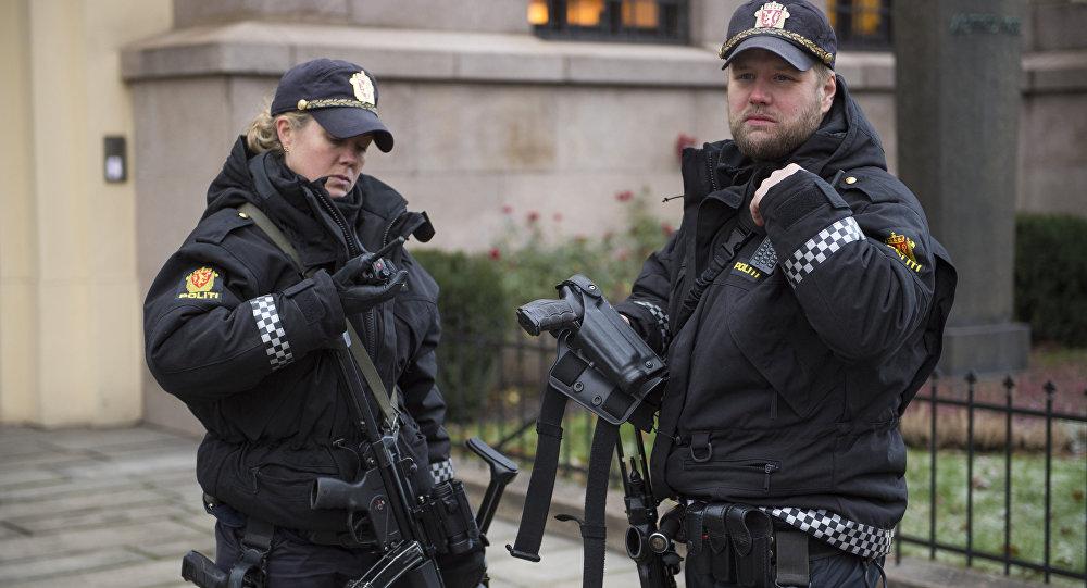 Police à Oslo