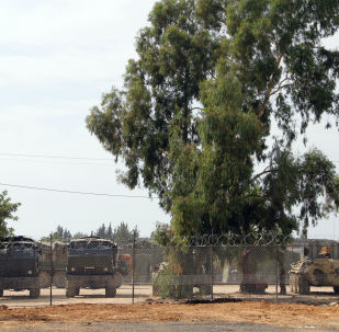 Des matériels russes à la base de Hmeimim en Syrie (archive photo)