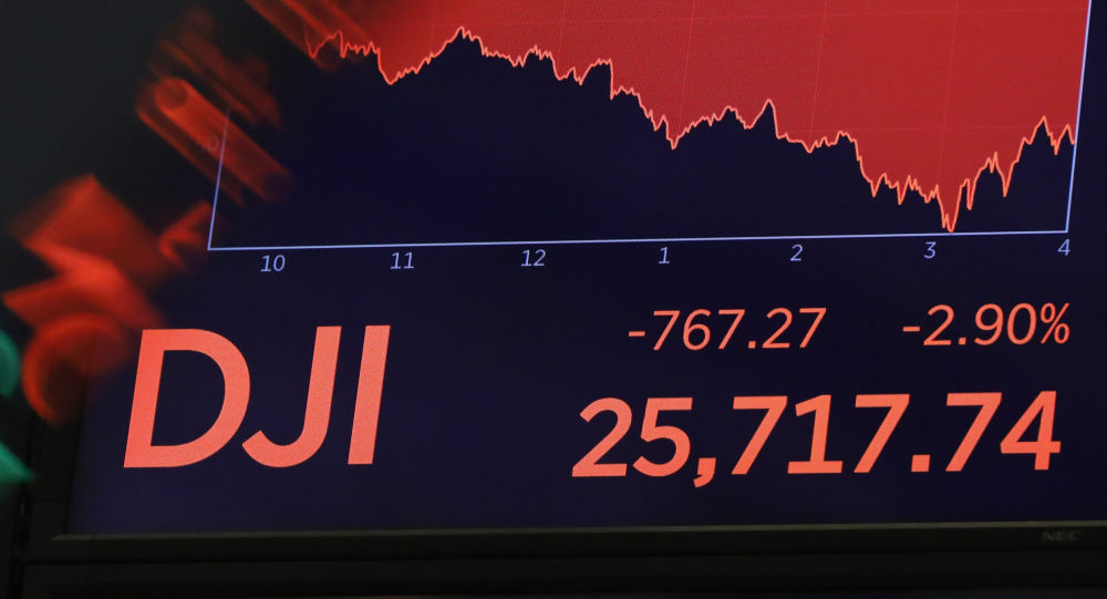 Le Dow Jones plonge sous les 25'500 points — Wall Street
