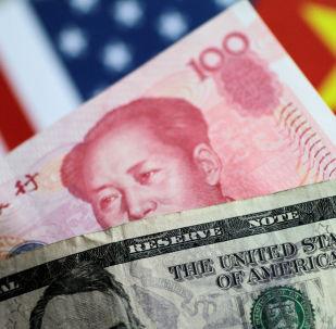 dollar et yuan