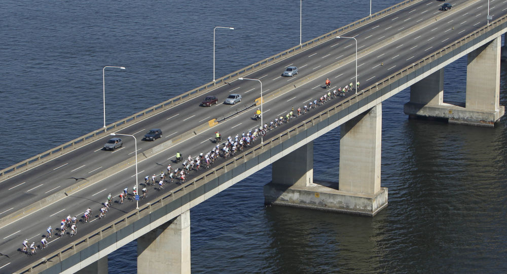Pont de Rio-Niterói à Rio de Janeiro (archive photo)