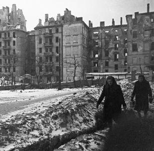 Varsovie en 1945