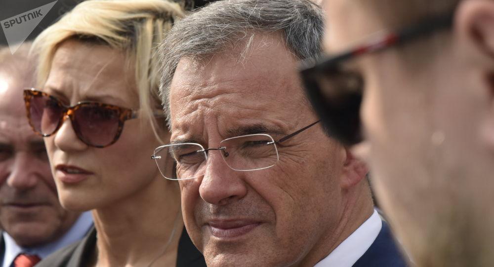 Thierry Mariani en Crimée