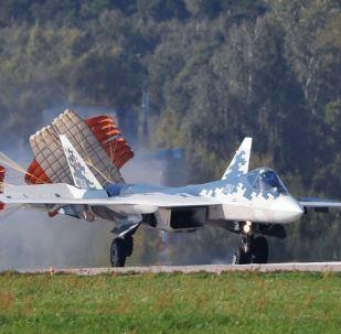 Сhasseur multirôle Su-57 à Joukovski