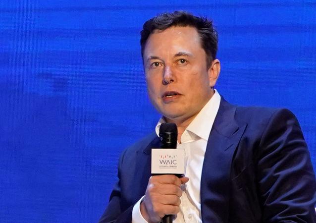 Elon Musk à la Conférence mondiale sur l'intelligence artificielle à Shanghai (29 août 2019)