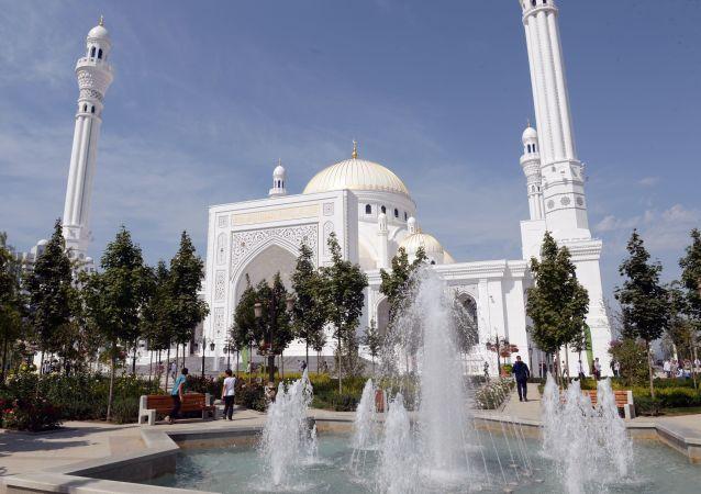 Une mosquée en Tchétchénie
