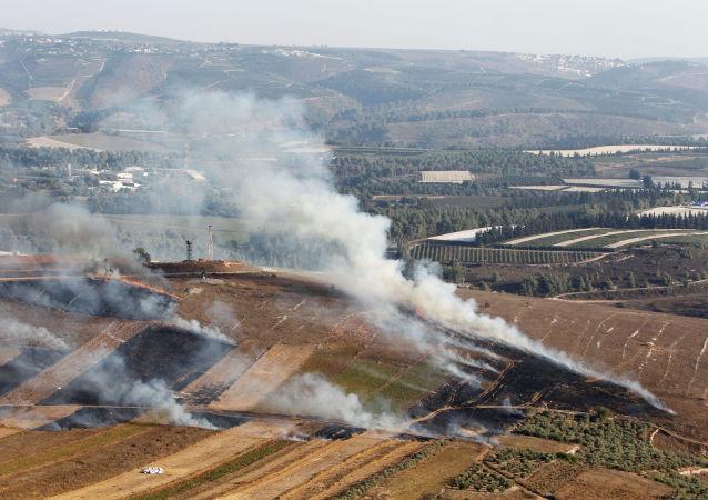 Village du sud du Liban pilonné le 1er septembre par Israël