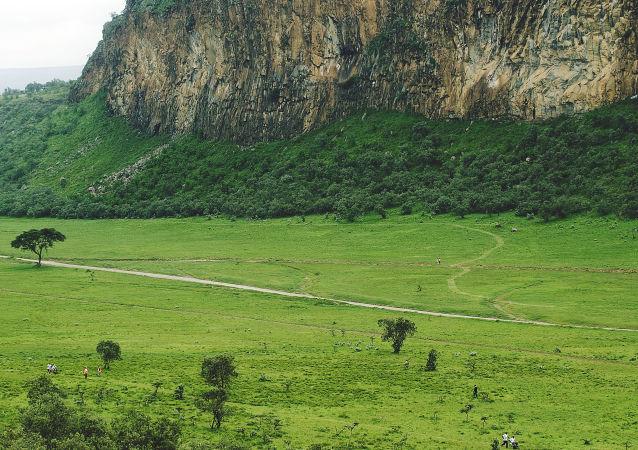 parc national Hell's Gate, au Kenya