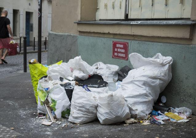 ordures à Paris