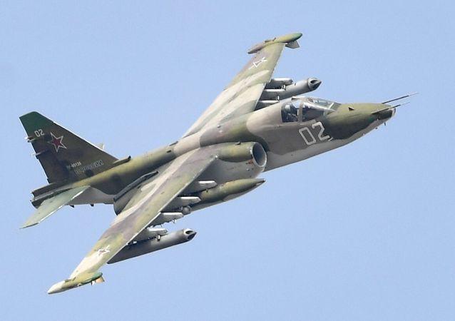 Un Sukhoi Su-25