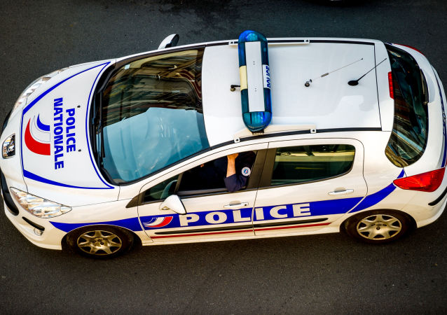 Voiture de police (image d'illustration)