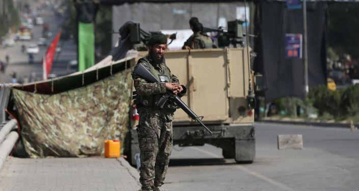 militaire de l'Armée nationale afghane