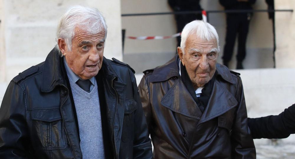 Jean-Paul Belmondo et Charles Gérard