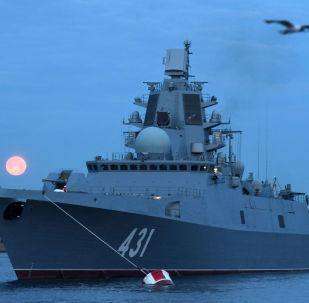 La frégate Amiral Kassatonov