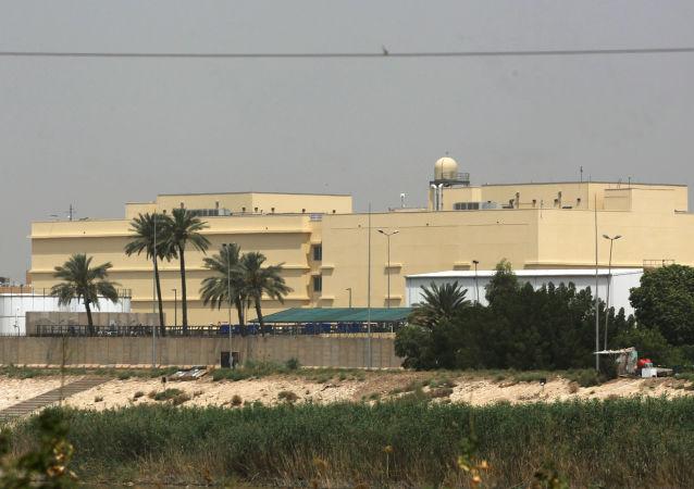 l'ambassade américaine à Bagdad