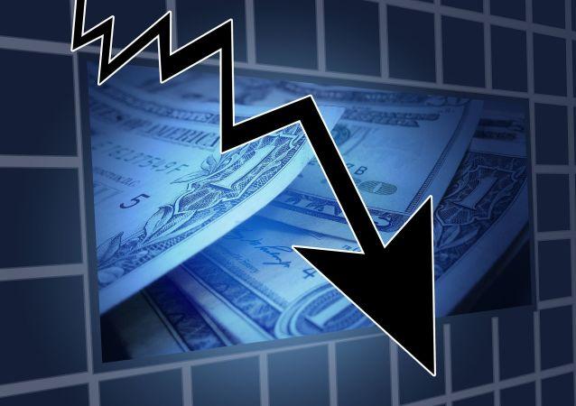 Сrise financière, image d'illustration