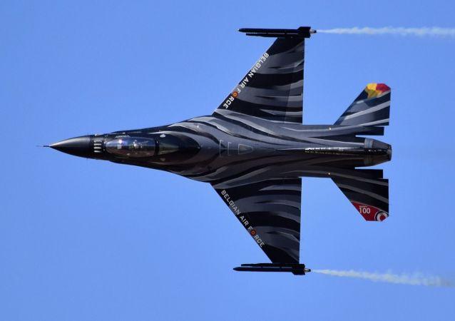 Un F 16 belge (photo d'illustration)