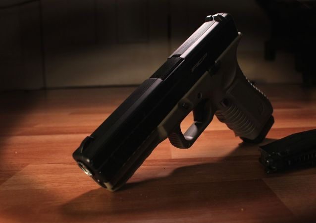 une arme à feu