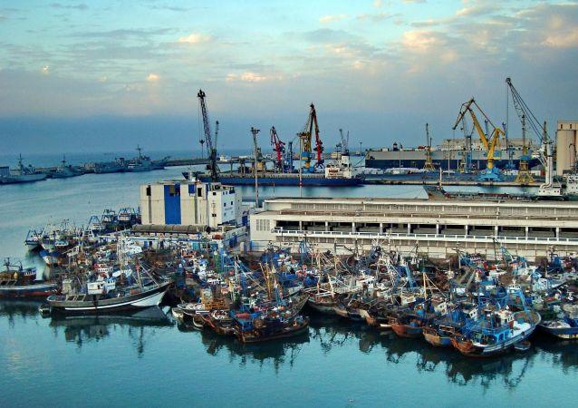 Port de Casablanca, Maroc