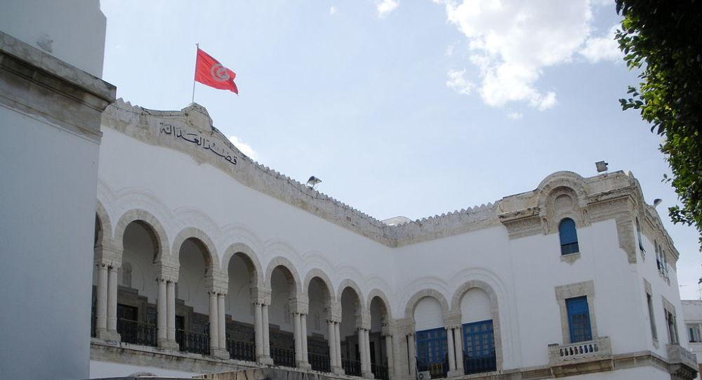 Façade du palais de justice