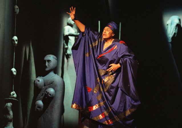 la soprano américaine Jessye Norman