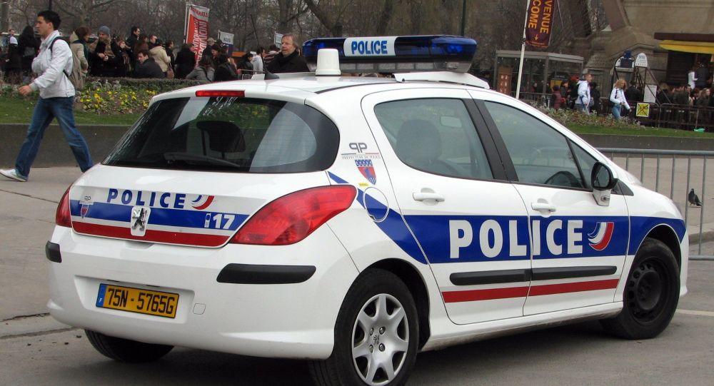 voiture de police, image d'illustration