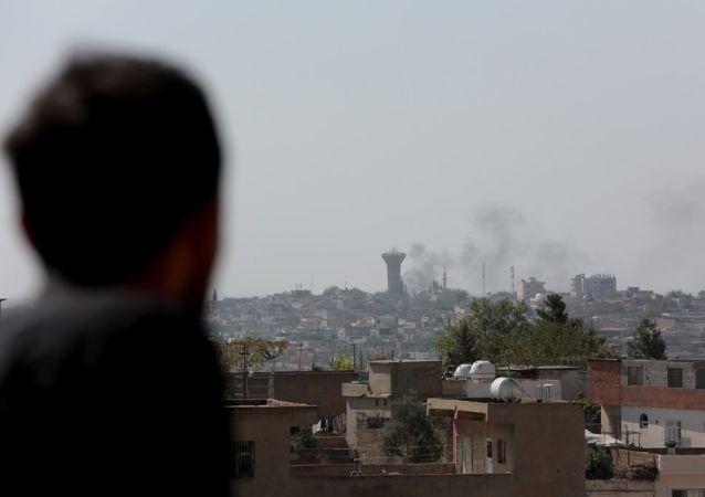 Situation près de la frontière entre la Turquie et la Syrie