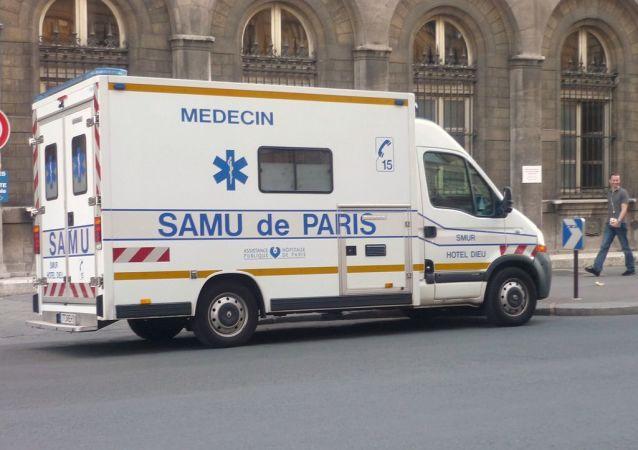 Véhicule du SAMU (image d'illustration)