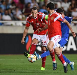 Match Russie-Chypre, le 13 octobre 2019