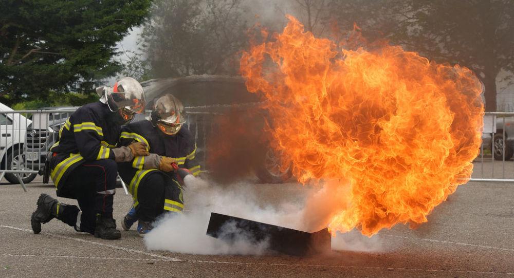Des Sapeurs-pompiers français (photo d'archives)