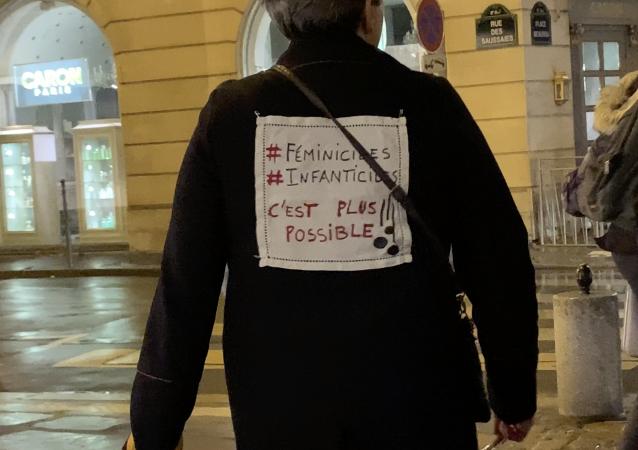 Action militantes féministes #NousToutes