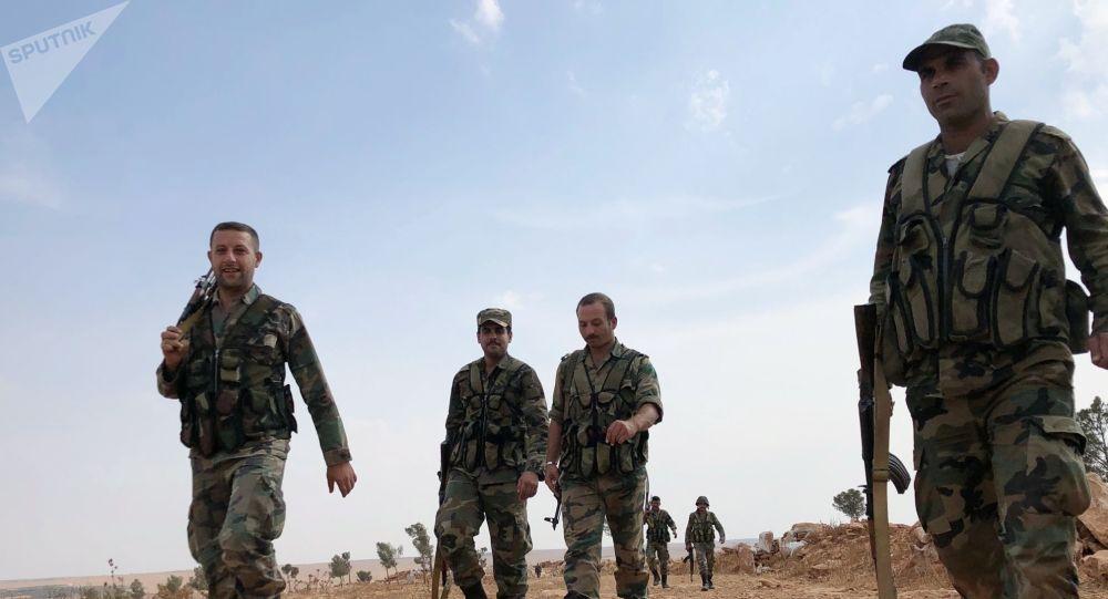 Des soldats syriens, archives