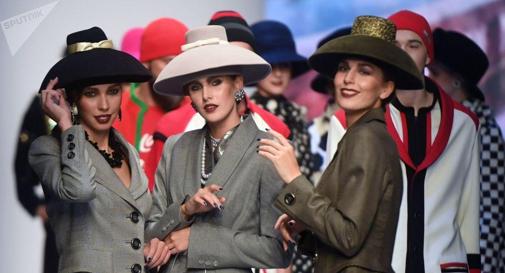 Mercedes-Benz Fashion Week Russia 2019, le défilé de Viatcheslav Zaïtsev