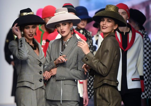 Mercedes-Benz Fashion Week Russia 2019, le défilé de Viatcheslav Zaïtsev