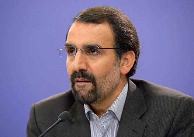 L'ambassadeur iranien en Russie à Moscou Mehdi Sanaei