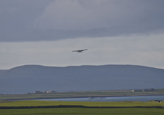 Un avion décolle de Papa Westray (archive photo)