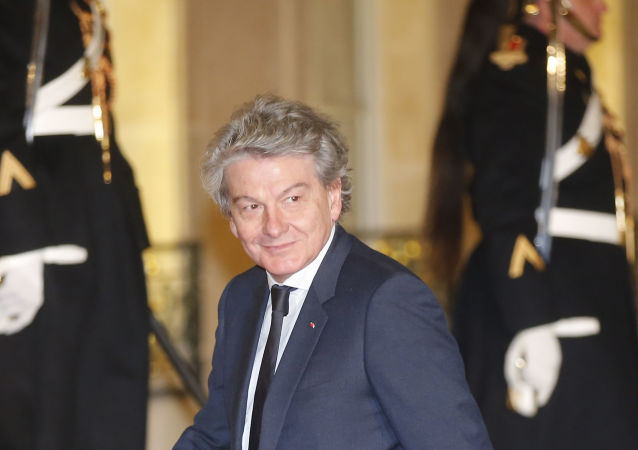 Thierry Breton, actuel PDG du groupe Atos