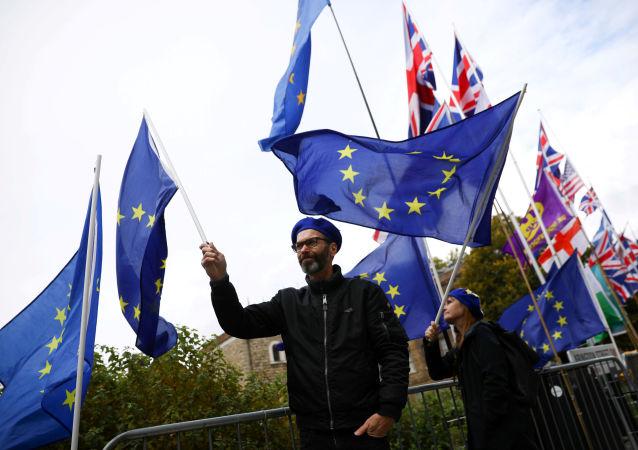 Manifestants anti-Brexit