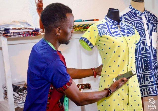 Patrick Soh, créateur de la marque Soh Cameroun