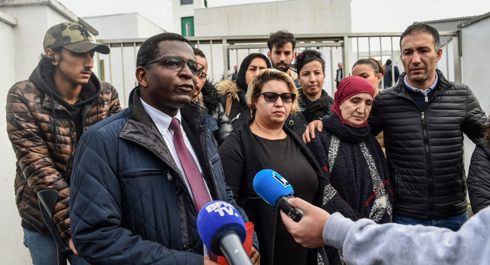 les avocats et les familles des victimes de l'attaque de Bayonne