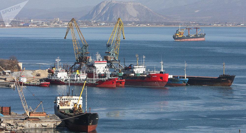 port de Nakhodka, image d'illustration