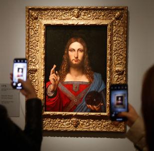 le tableau de Léonard de Vinci Salvator Mundi