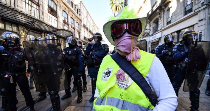Acte 52 des Gilets jaunes à Montpellier, le 9 novembre 2019